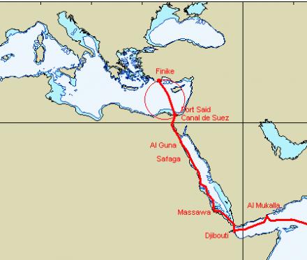 De port said egypte a finike turquie parsifal le - Distance en milles nautiques entre 2 ports ...